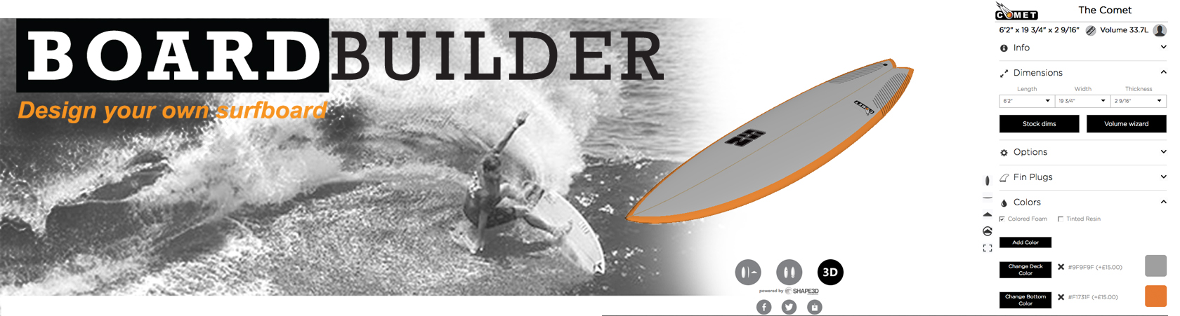 Surf Board Builder