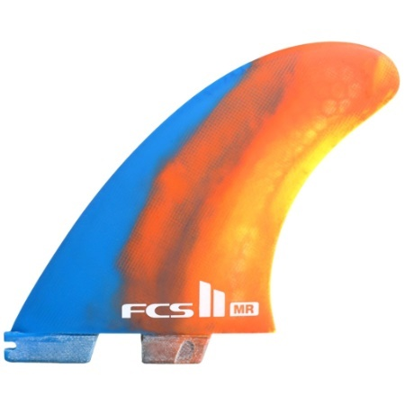 Picture of FCS II MARK RICHARDS TWIN + STABILISER FINS COLOUR SWIRL